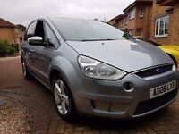 FORD S-MAX 2.0 TITANIUM TDCI MPV 6 SPEED 7 SEATER WITH PANORAMIC ROOF DIESEL ESTATE