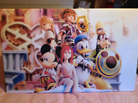 Kingdom Hearts - Printed Canvas - RPG, Playstation
