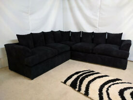 EXPRESS DELIVERY UK | LARGE LIVERPOOL CORNER OR 3+2 SEATER SOFA + FREE FOOTSTOOL | 1 YEAR WARRANTY