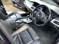 BMW 520D ESTATE, AUTOMATIC GEARBOX, FULL LEATHER, M - PACK. IN EXCELLENT CONDITION