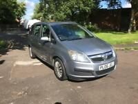 2006 VAUXHALL ZAFIRA 7 SEATER 1.6L PETROL FOR SALE