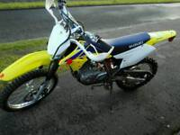 Suzuki DRZ 125 Motorcross bike