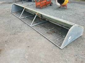 14ft iae hay feeder rack in very good condition tractor livestock
