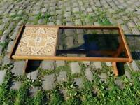 G-plan tiled coffee table