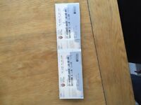 Royal Edinburgh military tattoo 4 tickets 27th August