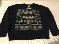 Brand new Batman Christmas jumper