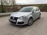 Vw golf gt tdi 140bhp •• full leather interior * 12 month mot