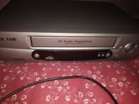 VHS Video Recorder Machine