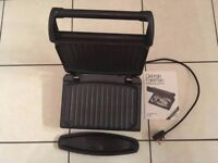 George Foreman 7 - Portion Fat Reducing Health Grill 919570 Great Condition