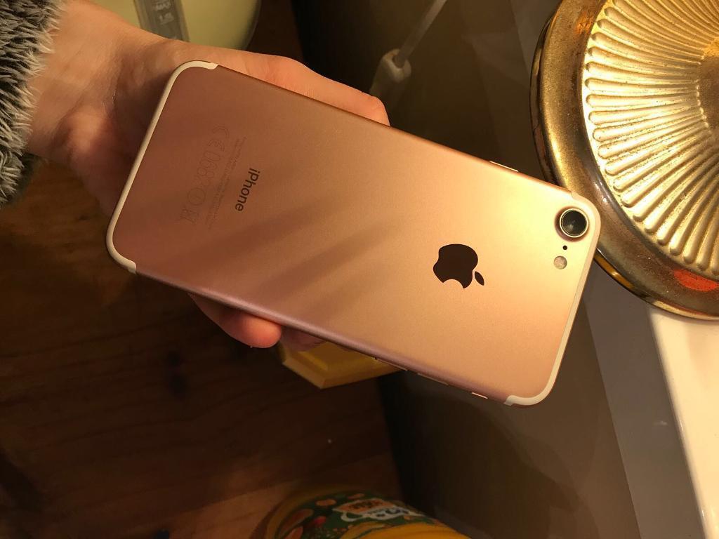 IPHONE 7 32GB ROSE GOLD - Brilliant Condition