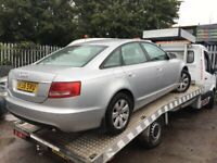 Audi A6 2.7 tdi silver breaking for parts