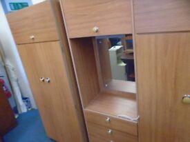 3 piece wardrobe set.