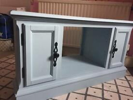 Gorgeous hand finished TV Stand