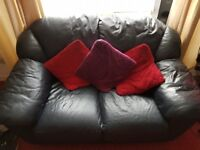 3 piece and 2 piece couches. Great condition, few scuffs to leather but nothing major. Can deliver