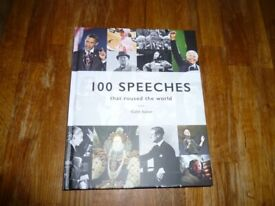 100 Speeches that roused the world Book