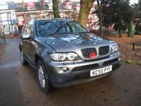 BMW X5 3.0 SPORT SE FULL LEATHER CRUISE MANUAL 12 MONTHS WARRANTY 2005
