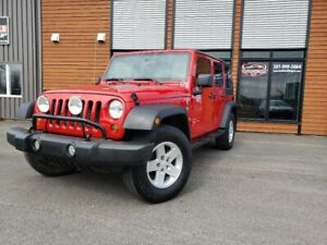 2009 Jeep Wrangler Unlimited X UNLIMITED / 2 TOITS / AUTOMATIQUE