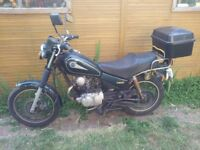Yamaha SR125 1997 (running) Spares or Repairs
