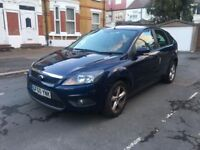 2010 FORD FOCUS 1.6 ZETEC MANUAL 5 DOOR HATCH BACK WITH SERVICE HISTROY AND MOT