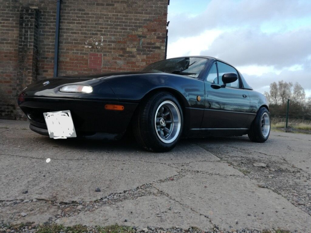 Mazda mx5 mk1 JDM Eunos roadster V-Spec 6 speed bc coilovers | in Grimsby,  Lincolnshire | Gumtree