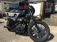 Harley Davidson XL 883 N IRON, with 1200 conversion