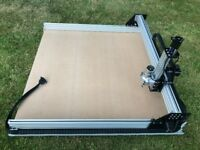 NEW CUBE CNC Router Machine with 0.4kw ultra quiet spindle (1000 x 1000mm )
