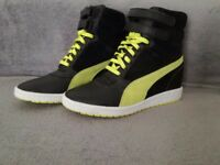 Puma The Sky wedge sneaker (size uk 6.5) - £20