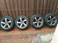"Volvo xc60 18"" wheels and tyres plus spare tyre"