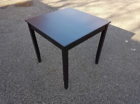 Ikea Black/Brown Square Dining Table 74cm FREE DELIVERY 421