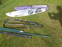 Mistral Windsurfer (& assorted windsurfing accessories)
