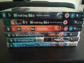 Breaking Bad Complete DVD collection
