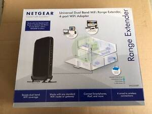 Netgear WN2500RP Universal Dual Band WiFi Range Extender 4-port Dunlop Belconnen Area Preview
