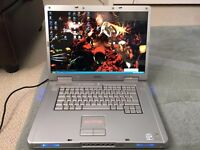 """Dell XPS M1710 Gaming Laptop, 17"""" display, 2.00Ghz Intel Core2 Duo, 2GB RAM, No Hard Drive"""