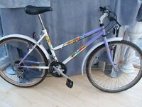 ADULT LADIES FALCON MONT BLANC MOUNTAIN BIKE IN GOOD CONDITION