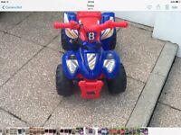 Childs Evo 6v ATV battery Quad