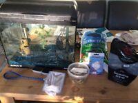 27ltr Aquarium plus all add ons