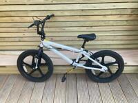 Zinc White BMX Bike
