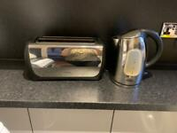 Kettle, toaster, bread bin & canisters