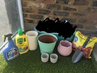 Flower pots, trawler and gardening products