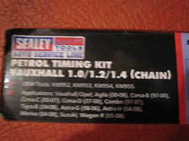 Vauxhall GM 1.0/1.2/1.4 Sealey Timing Set Kit VSE243