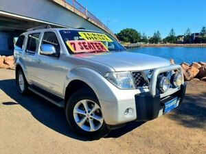 2008 Nissan Pathfinder R51 MY08 ST-L Silver 5 Speed Sports Automatic Wagon Mayfield East Newcastle Area Preview