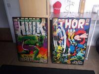 Large Superhero box frame pictures