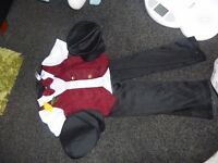 st david's day full boys costume aged 5/6 yrs