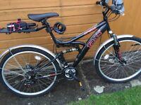 Adult Full Suspension Mountain Bike
