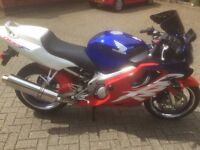 Honda CBR 600F. Ultima Light, very low miles, superb condition, W reg, carburettor model