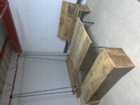 Reclaimed scaffold garden bench - Bath | scaffolding/rustic/upcycle/farmhouse