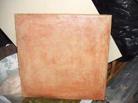 43 Ceramic Floor Tiles (used but clean)