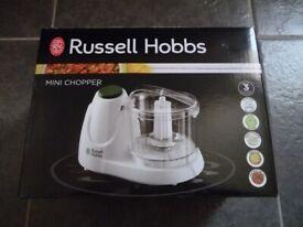 New Russell Hobbs Mini Chopper