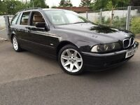 BMW 530D AUTO TOURING 2002 FULLY LOADED FACELIFT MODEL SAT NAV XENON HEADLIGHTS