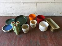 Various Plant Pots, Plant Saucers and Vases – Collect Only